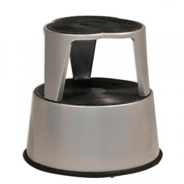 marche pied roulettes 2 marches en plastique equip rayonnage. Black Bedroom Furniture Sets. Home Design Ideas