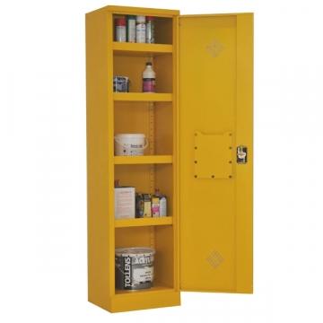 armoire produits dangereux 1 porte acier equip rayonnage. Black Bedroom Furniture Sets. Home Design Ideas