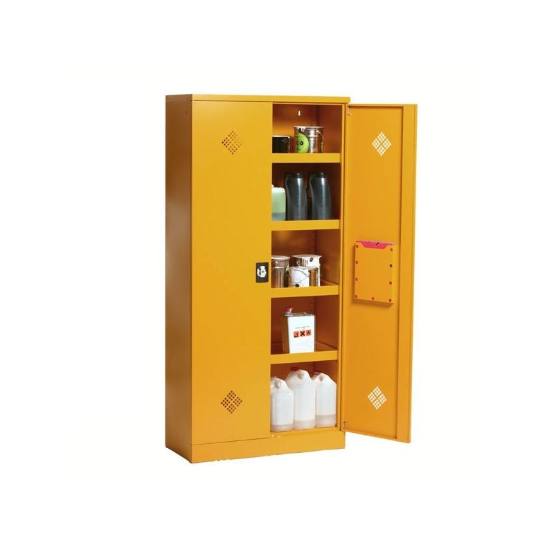 armoire produits dangereux 2 portes acier equip rayonnage. Black Bedroom Furniture Sets. Home Design Ideas